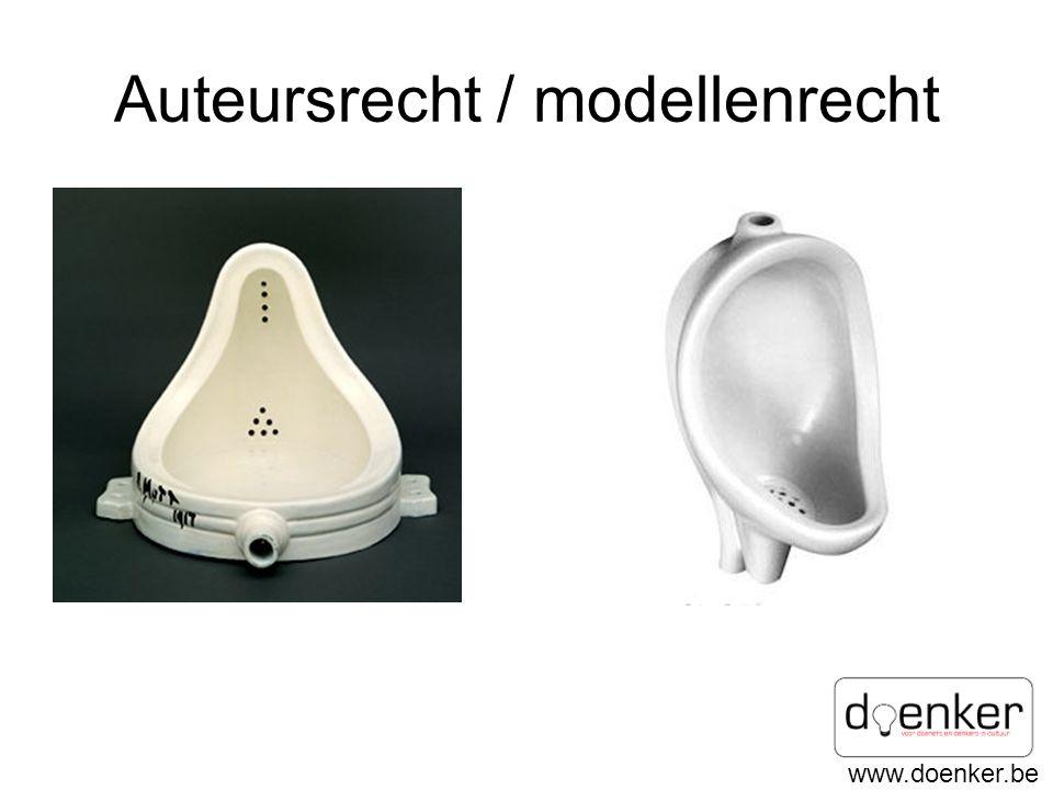 www.doenker.be Auteursrecht / modellenrecht