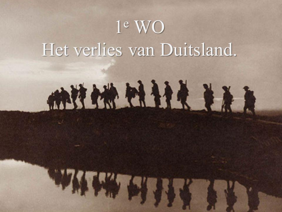 WO1 is de 'eerste echte' propaganda-oorlog.Alle landen voerden gigantisch propaganda.