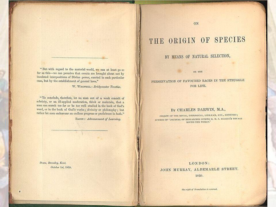 Charles Darwin 1809 – 1882 -Grondlegger van de evolutietheorie -Ontdekte veel over de evolutie tijdens zijn reis met de 'Beagle' (marineonderzoekschip