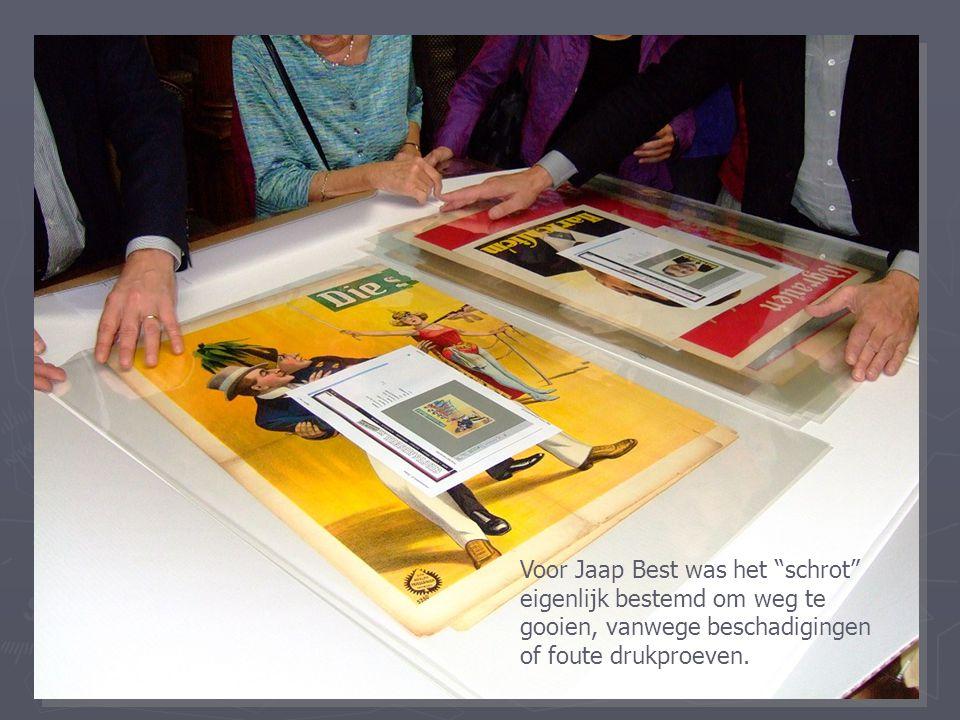 """Voor Jaap Best was het """"schrot"""" eigenlijk bestemd om weg te gooien, vanwege beschadigingen of foute drukproeven."""