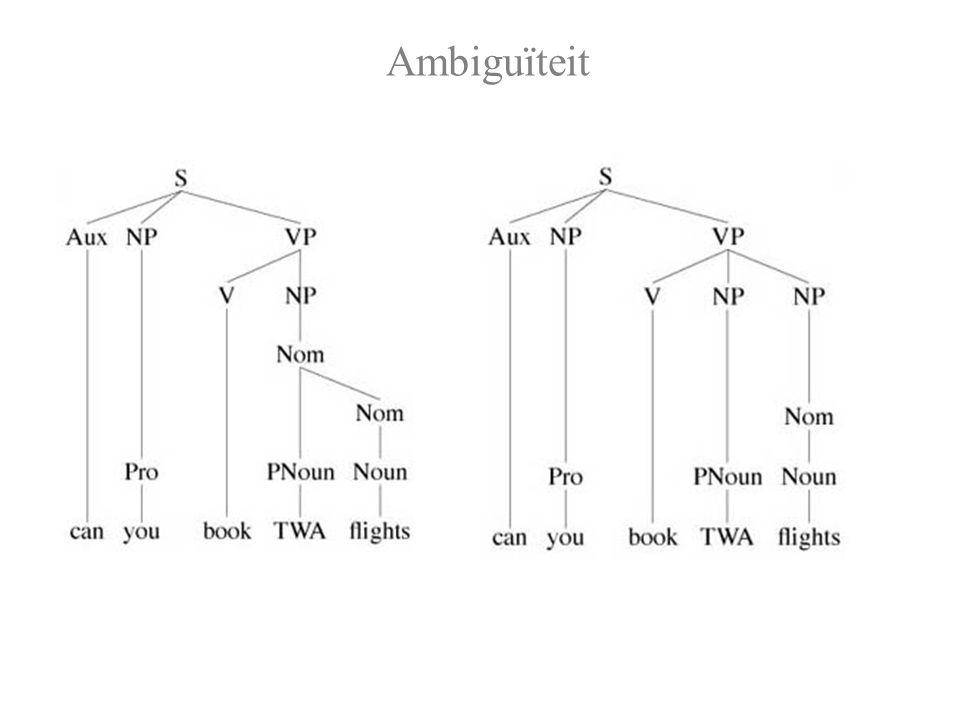Spraak & Taal: Language Modelling De spraakherkennings-technologie stelt ons in staat om voor elk kandidaat-woord W en elk input-signaal te schatten: de kans dat iemand W uitspreekt als S: P(S | W)
