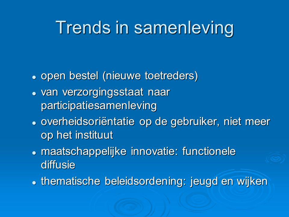 Wat voorlopige bevindingen  Welke conclusies kun je verbinden aan deze (actuele) trends.
