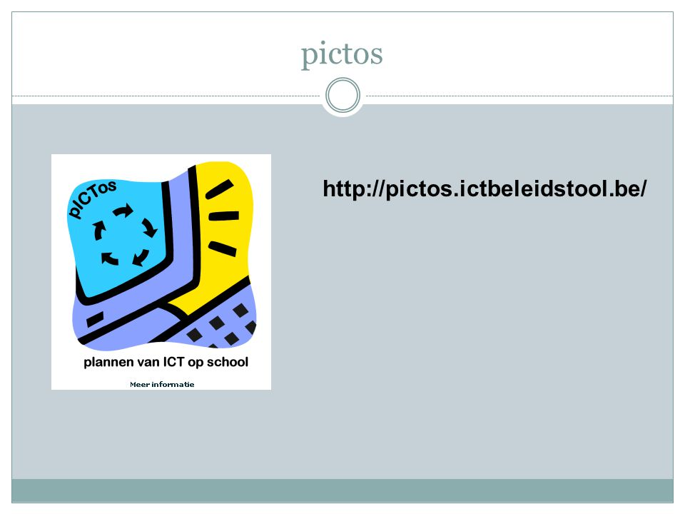 pictos http://pictos.ictbeleidstool.be/