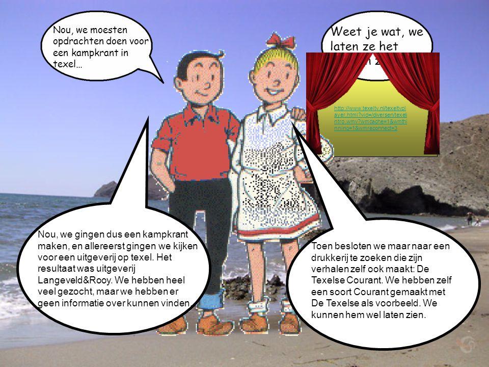 Welkom bij onze presentatie Hij gaat over de kampkrant We moesten deze presentatie maken, Als laatste opdracht van Rekenland.