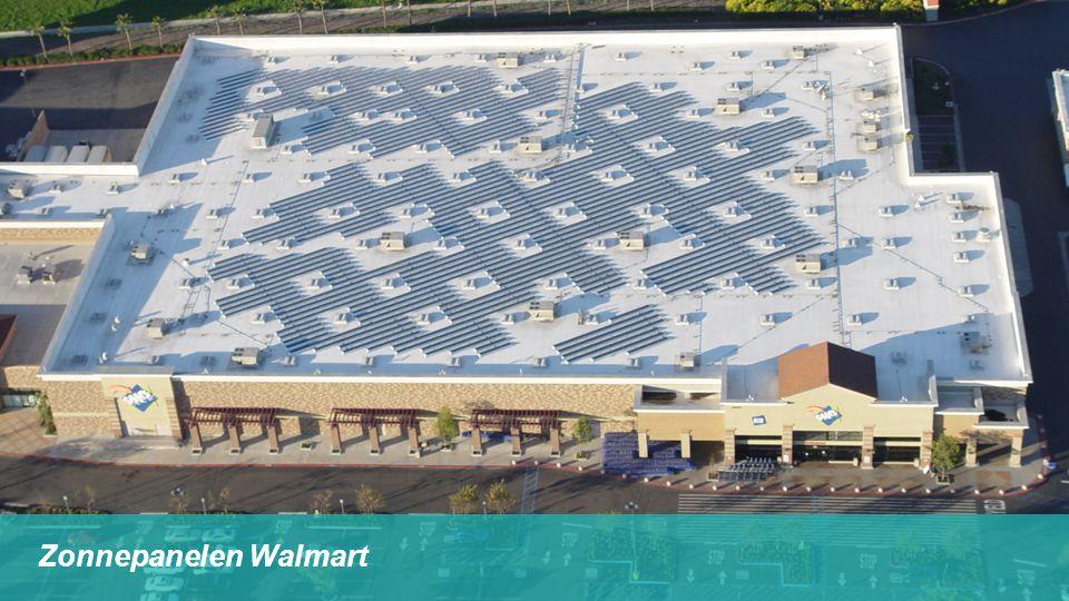 Zonnepanelen Walmart