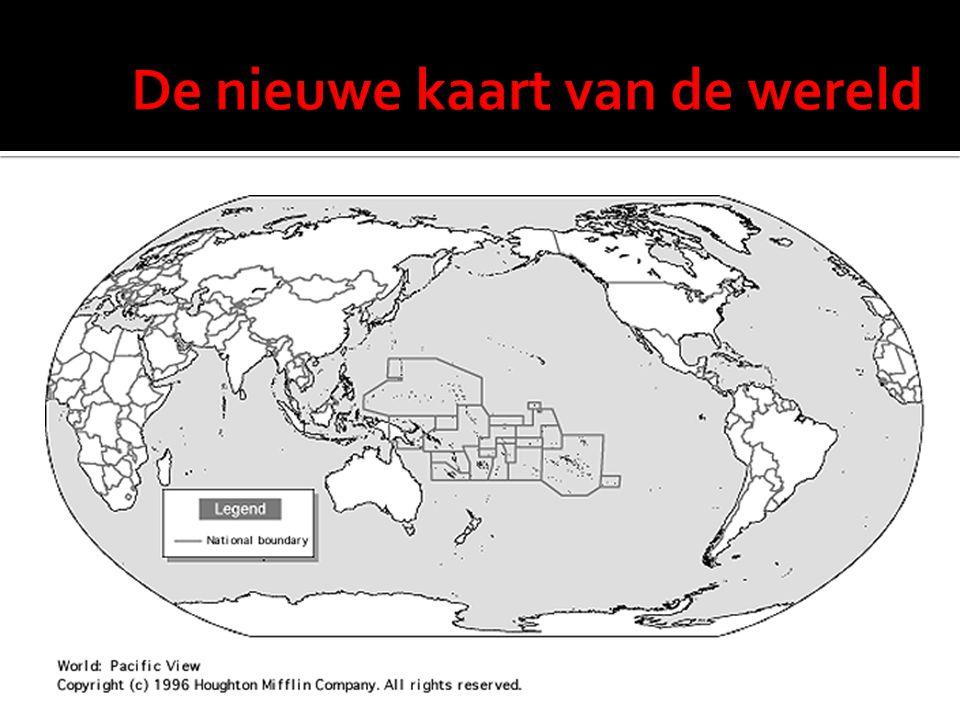 De nieuwe kaart van de wereld