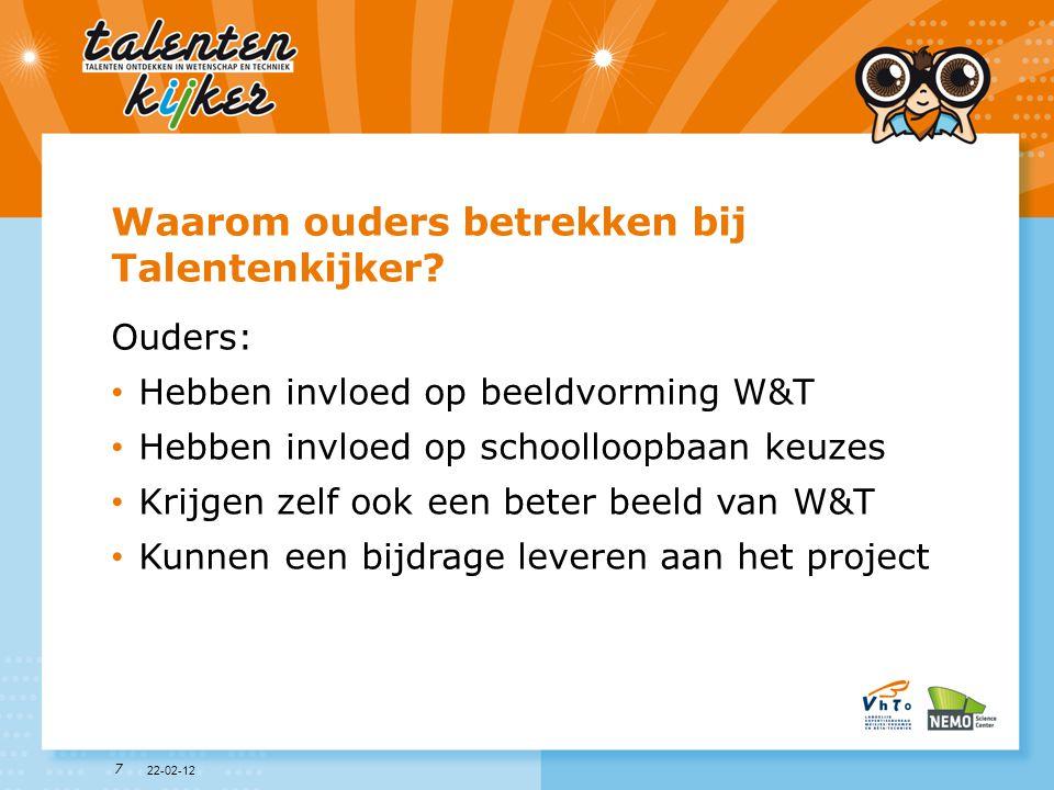 18 Talent Wat wordt in dit project verstaan onder Talent.