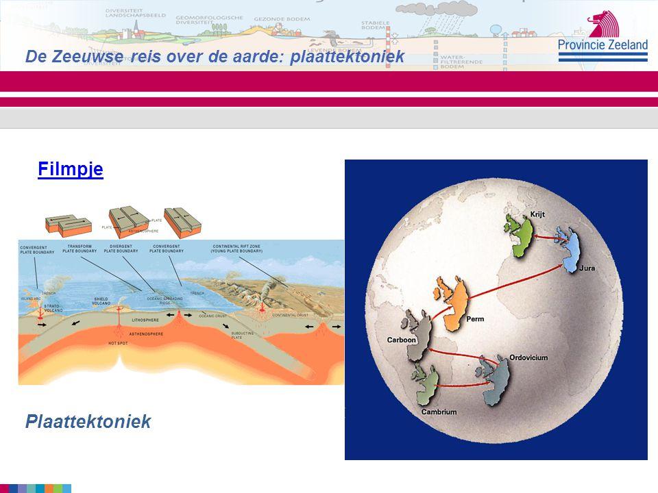 De Zeeuwse reis over de aarde: Eindbestemming Kwartair Holoceen: Voor details zie de presentatie over het ontstaan van Zeeland