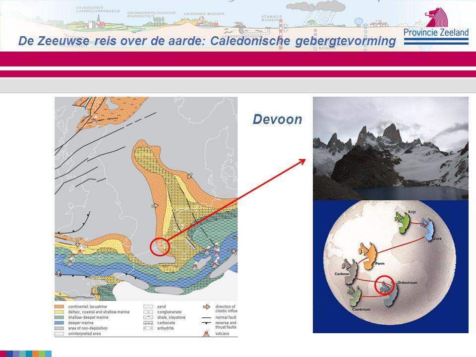De Zeeuwse reis over de aarde: Caledonische gebergtevorming Devoon