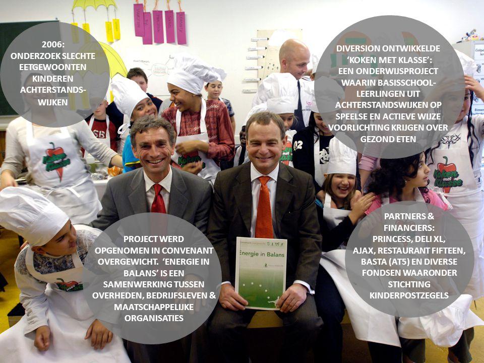 Koken met Klasse bezoekt groep 7 & 8 van basisscholen in achterstandswijken in Rotterdam, Den Haag, Amsterdam, Utrecht en Leiden.