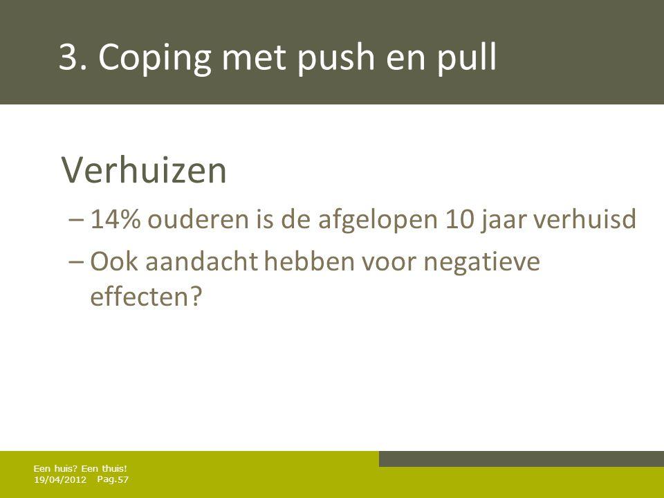 Pag.3. Coping met push en pull Woning aanpassen.