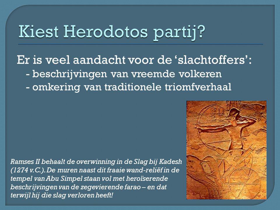 Volgens Herodotos (Historiën 3.38) zijn de Kallatische Indiërs kannibalen: ze eten hun vaders na hun dood op.