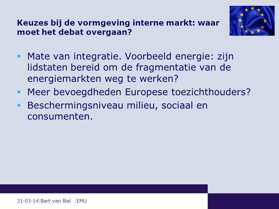 31-03-14|Bart van Riel |EMU  Mate van integratie.