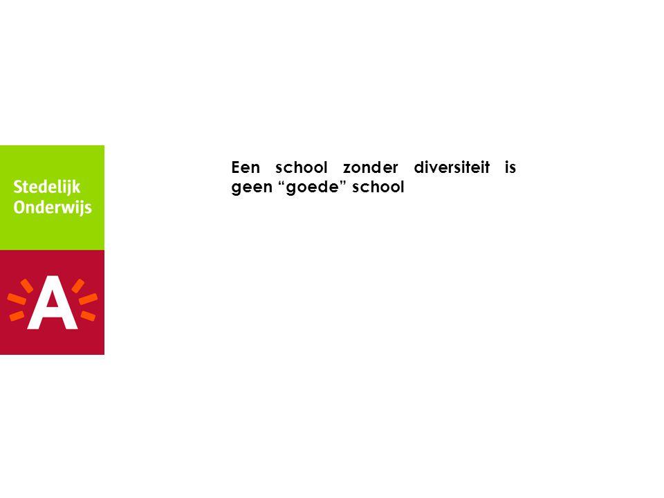 Een school zonder diversiteit is geen goede school