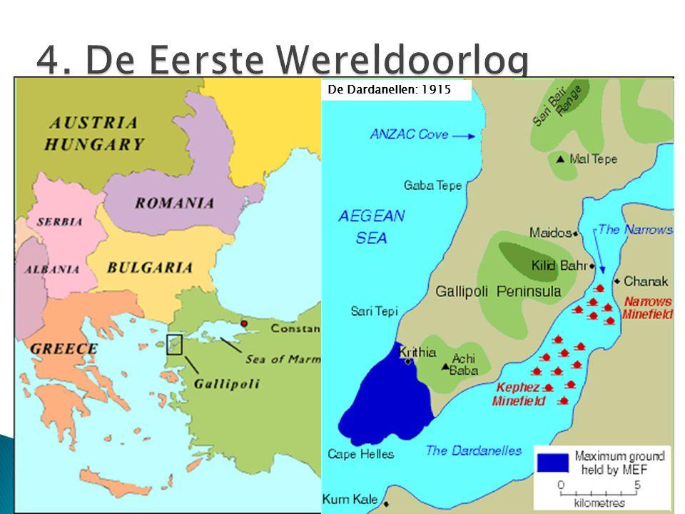 De Dardanellen: 1915