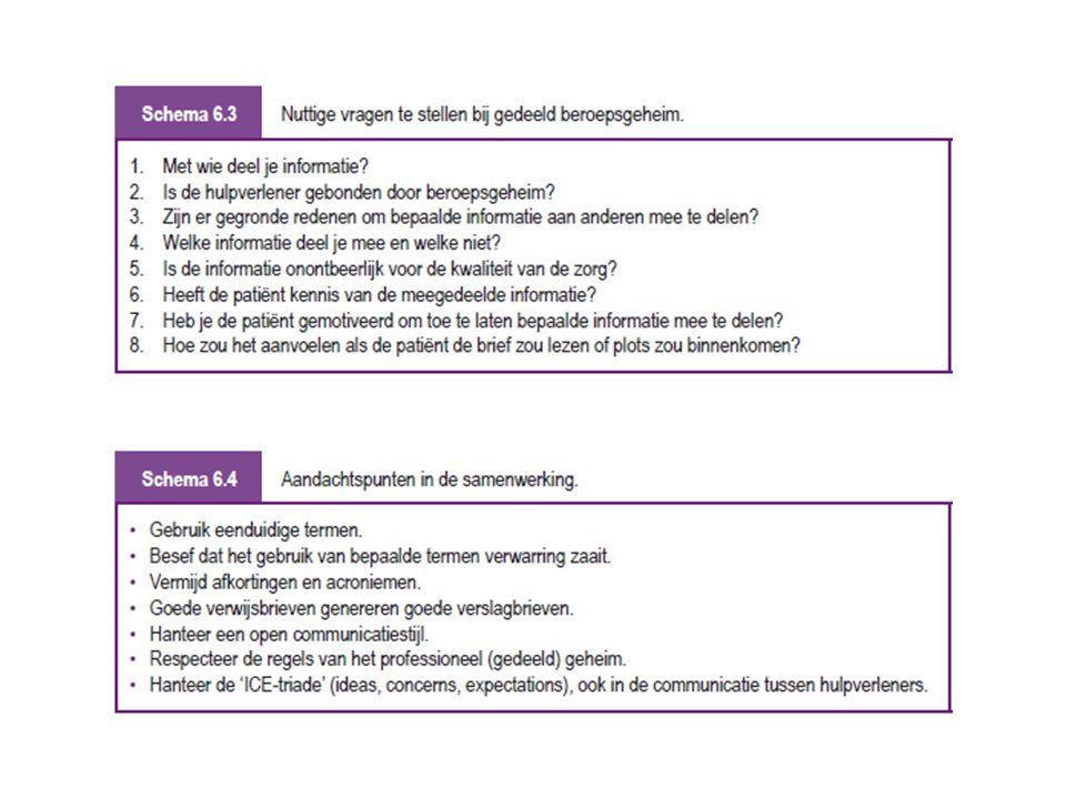 Verwijzen is niet afwijzen Hoofdstuk 7 Chris Geens, Jan De Lepeleire