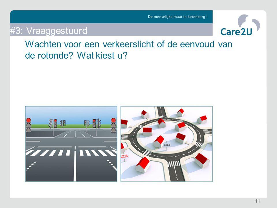 Wachten voor een verkeerslicht of de eenvoud van de rotonde? Wat kiest u? 11 #3: Vraaggestuurd