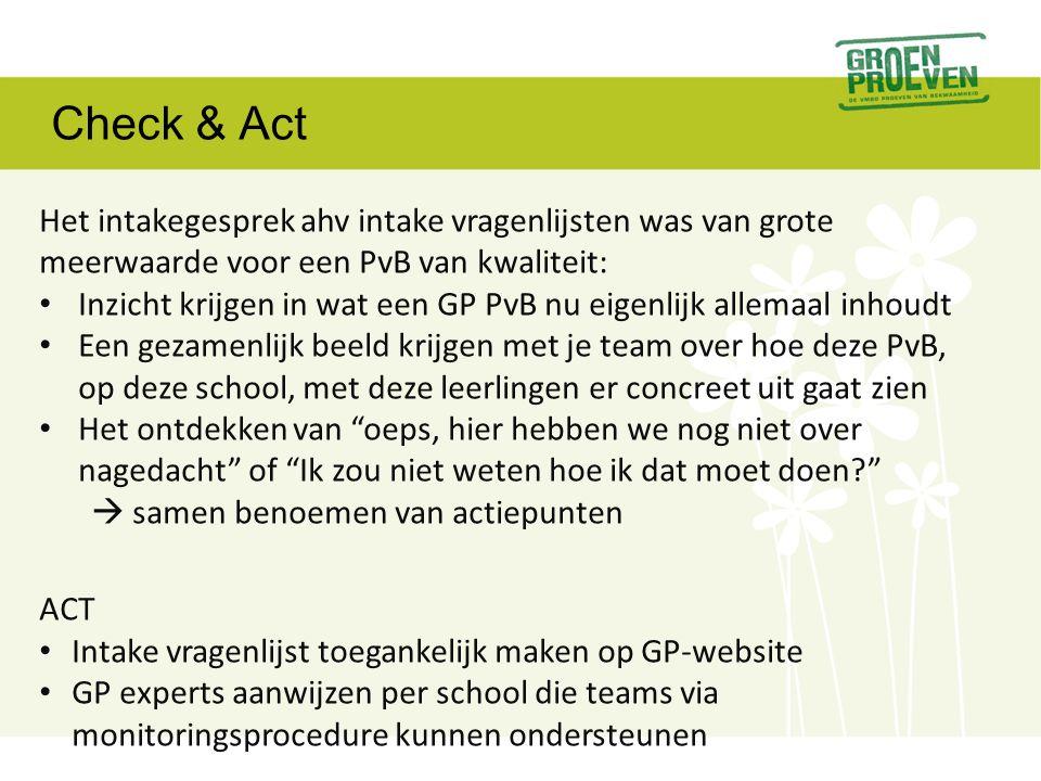 Check & ACT Docenten moeten een beeld vormen van competenties • Hoe ZIE ik competenties in leerling gedrag.