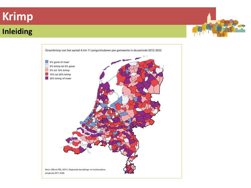 Voorbeeld 1: Buurtschappenvisie W'wijk VAB: Vrijgekomen Agrarische Bebouwing • Schaalvergroting in de agrarische sector leidt tot afnemend aantal boerenbedrijven.