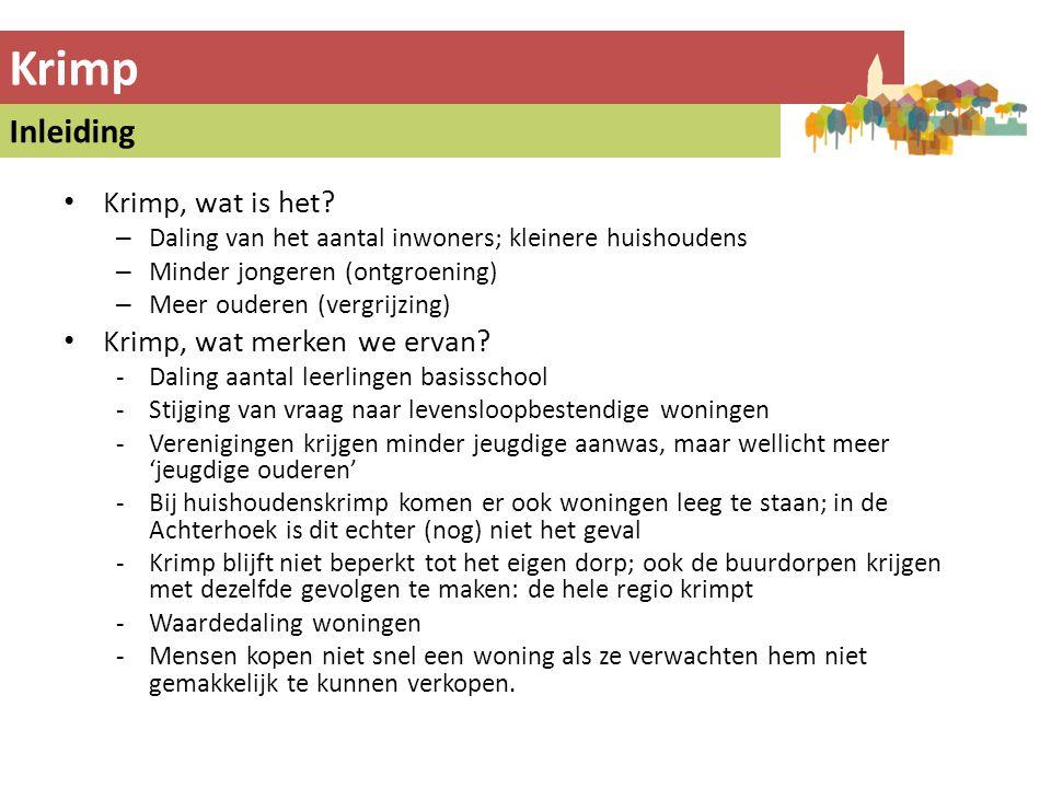 Voorbeeld 1: Buurtschappenvisie W'wijk Behoefteonderzoek wonen en werken 'Behoefteonderzoek voor het wonen en werken in het buitengebied van de gemeente Winterswijk' -leegstand en verpaupering kan worden voorkomen, -de boerderijen kunnen worden behouden -en de leefbaarheid van het gebied kan worden gewaarborgd.