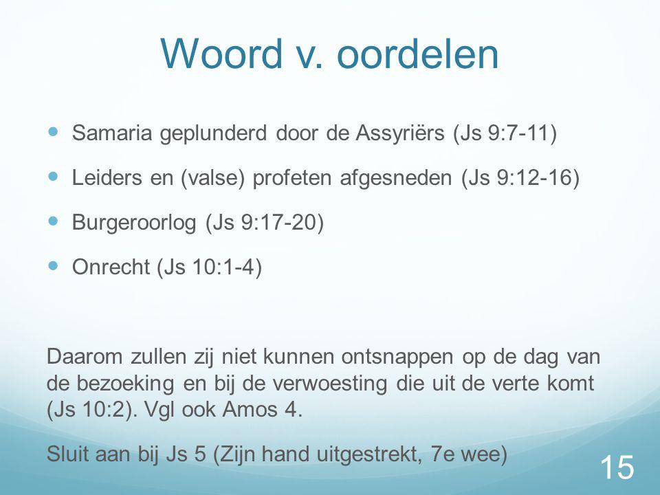Woord v.