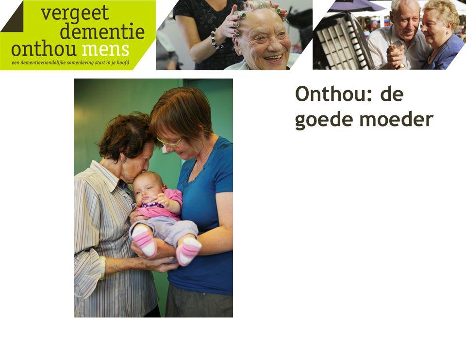 Onthou: de goede moeder