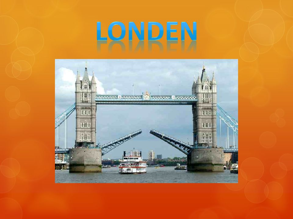 Inhoud o Geschiedenis van Londen o Aantal inwoners o Verkeer en vervoer o Bezienswaardigheden