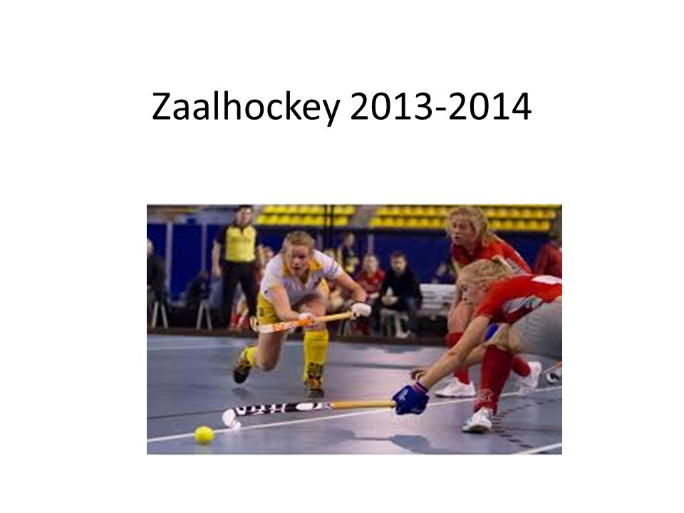 Zaalhockey 2013-2014
