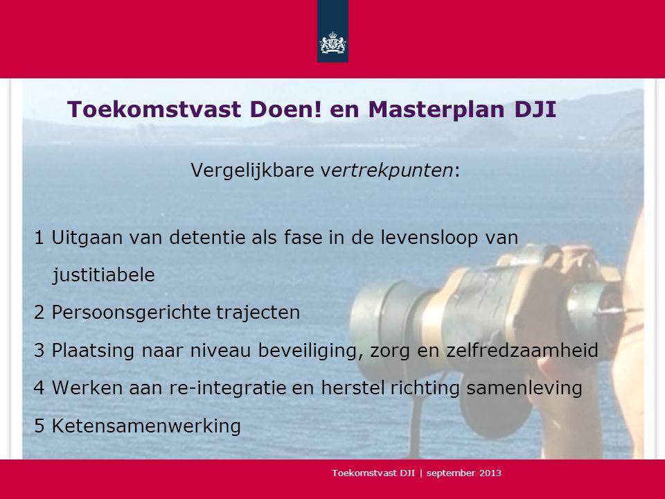 Toekomstvast DJI | september 2013 Toekomstvast Doen.