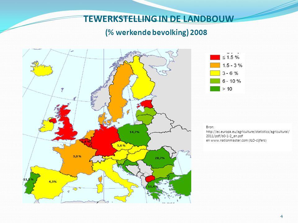 Over de grote sociaal-economische verschillen tussen de lidstaten 3