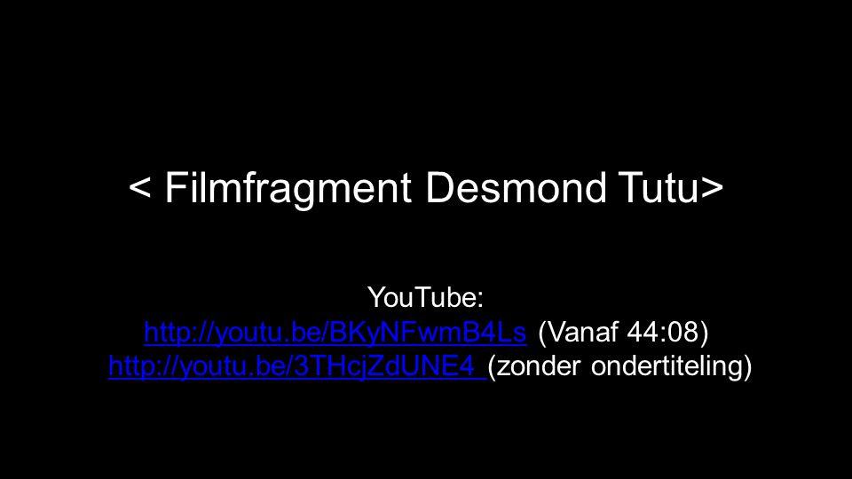 YouTube: http://youtu.be/BKyNFwmB4Ls (Vanaf 44:08) http://youtu.be/3THcjZdUNE4 (zonder ondertiteling) http://youtu.be/BKyNFwmB4Lshttp://youtu.be/3THcj