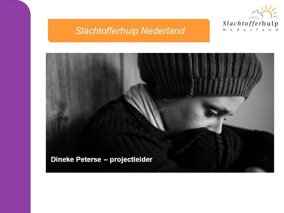 oktober 2013, NIVRE NIS •Signalen vanuit belangenorganisaties en de samenleving vertalen •Ministerie van Veiligheid & Justitie •Versterking Positie Slachtoffer (2009) •Visiebrief Staatssecretaris: Implantatietraject 'Recht doen aan Slachtoffers' •Kerngroep Slachtofferbeleid •Coördinatiegroep Slachtofferbeleid Hoe geeft Slachtofferhulp Nederland gehoor aan deze behoeften ?
