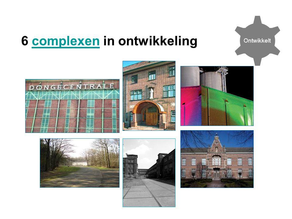 6 complexen in ontwikkelingcomplexen KVL Ontwikkelt