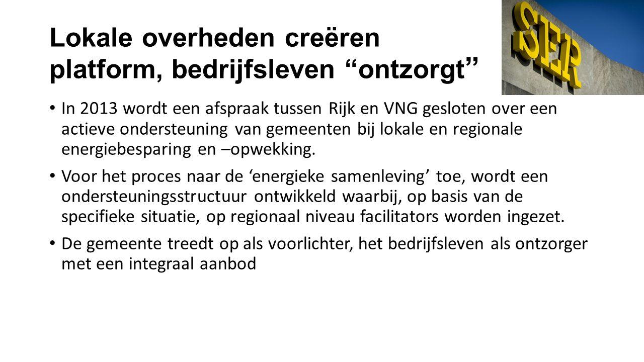 •Lokale markt benaderen •Adviseren over energiebesparing in de wijk •Ontzorgen van bewoners •Werven binnen de regio •Bewaken de uitvoering •Organiseren wijkevents Kerntaken LDE