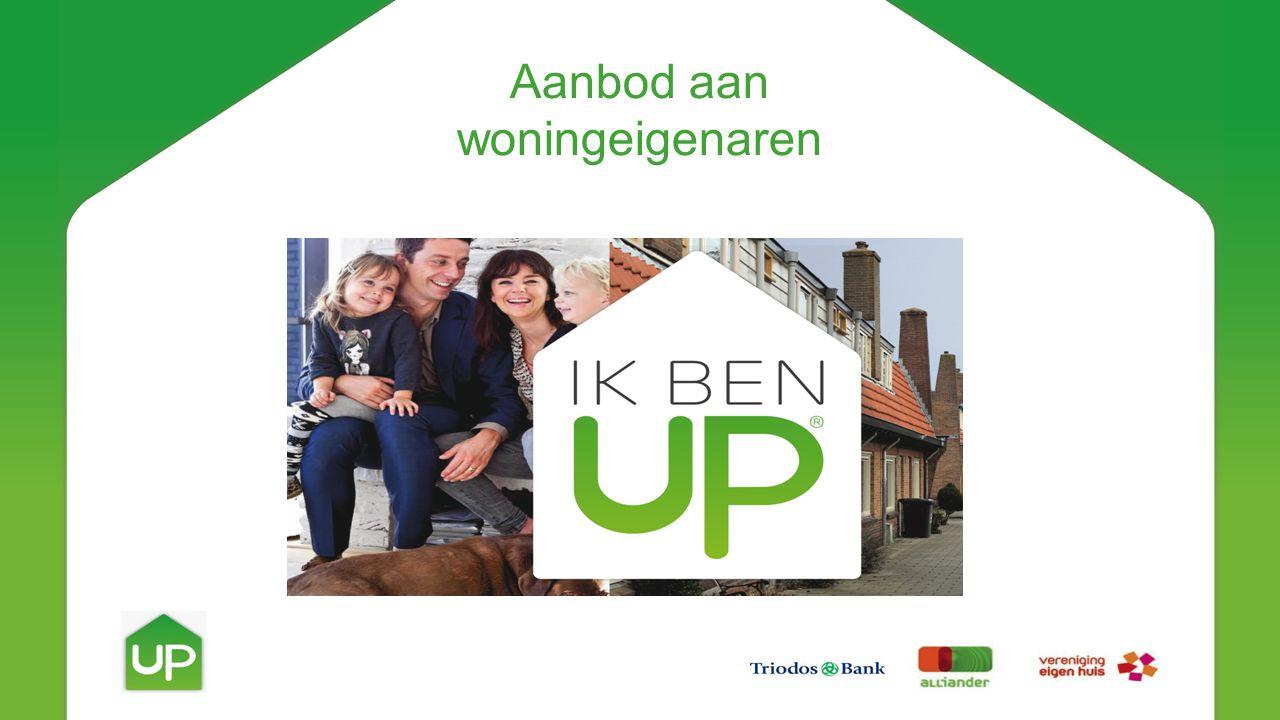 UP is duurzaam wonen in drie stappen.Met UP gaan je energiekosten omlaag en je wooncomfort omhoog.