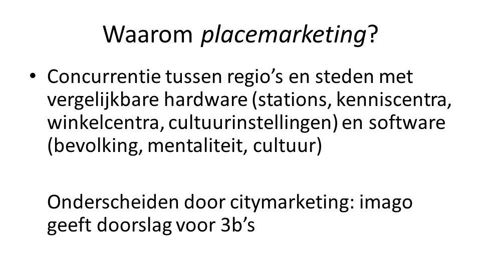 Waarom placemarketing.