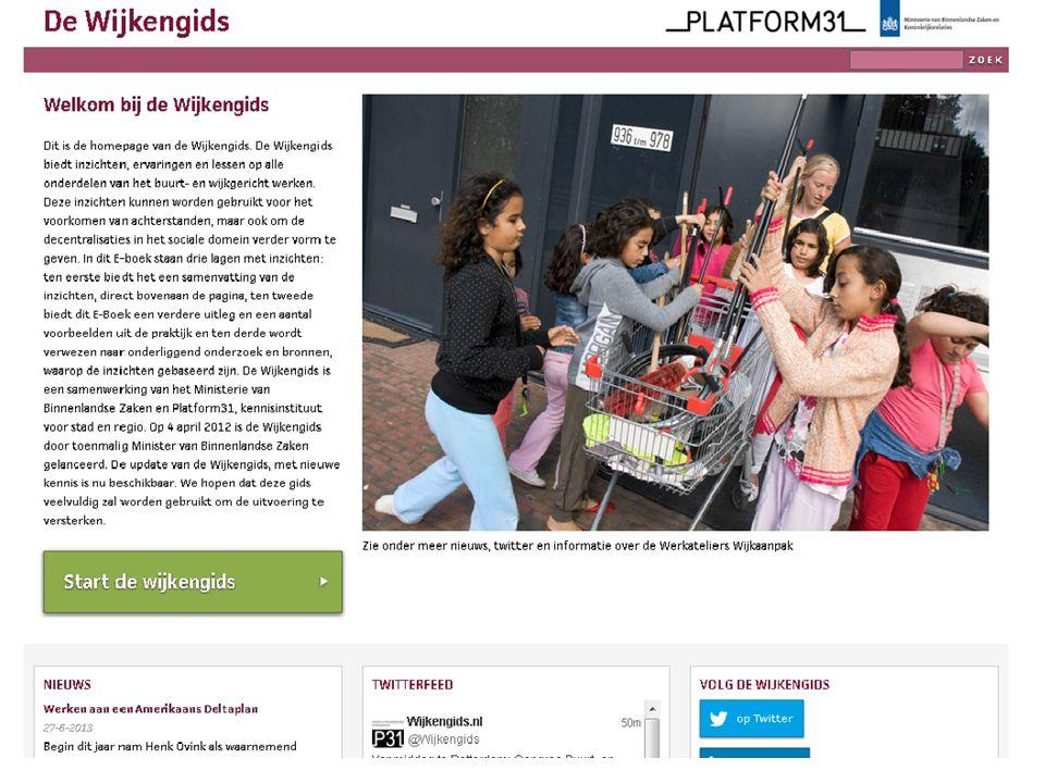 Congres 'Buurt- en wijkgericht werken in een veranderende context' screenshot