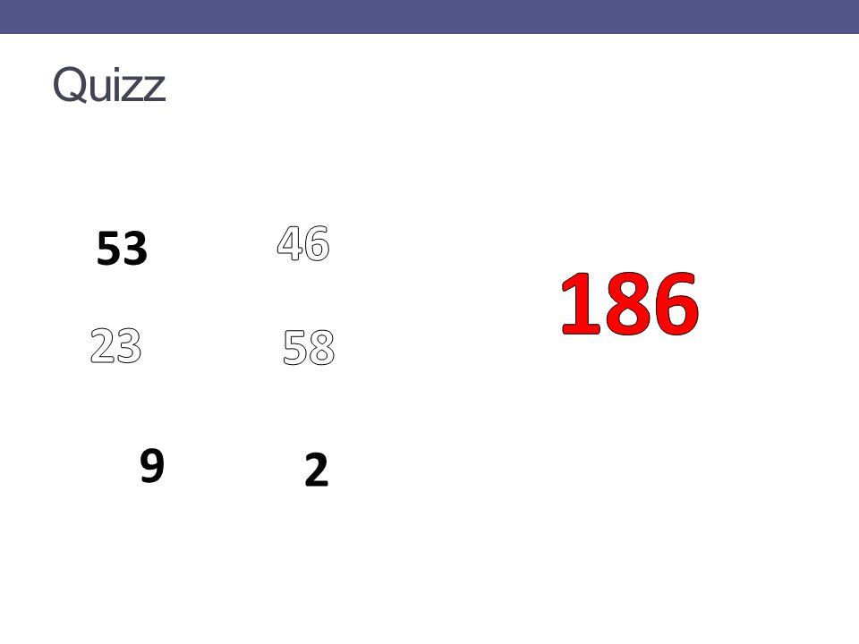 Quizz 53 9 2