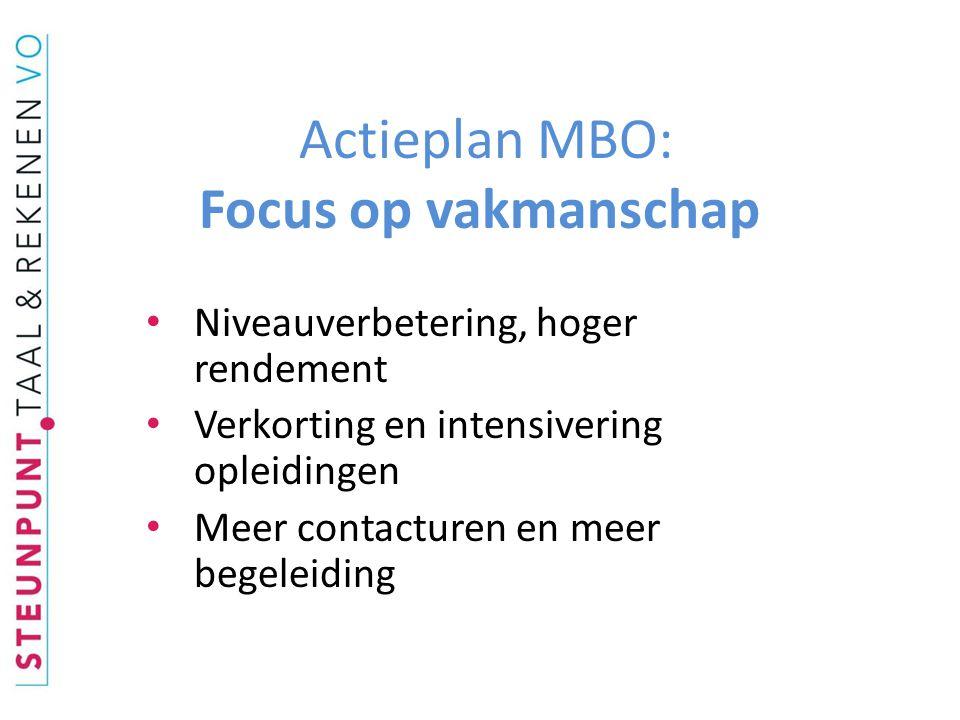 Wijzigingen MBO-1 • Nieuwe naam: MBO-1 plus AKA = Entreeopleiding • Entree tot MBO-2 en tot de arbeidsmarkt