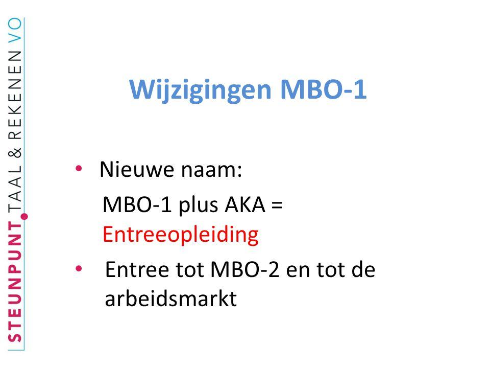 Nieuw in Entreeopleiding • Uitsluitend voor hen die niet aan vooropleidingseisen MBO 2, 3 of 4 voldoen • MBO-studenten en vmbo- leerlingen met multi-problematiek • Uitvallers MBO 2, 3 en 4: niet => entreeopleiding
