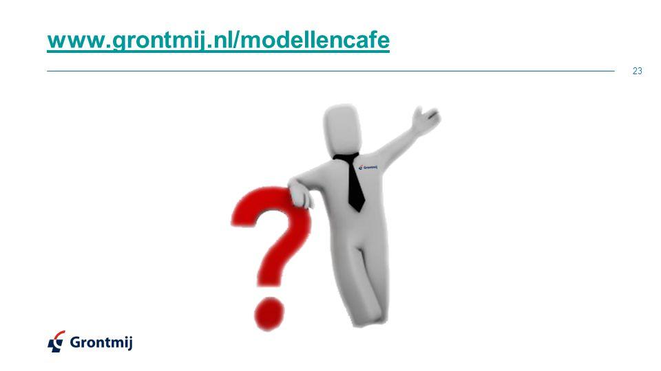 www.grontmij.nl/modellencafe 23