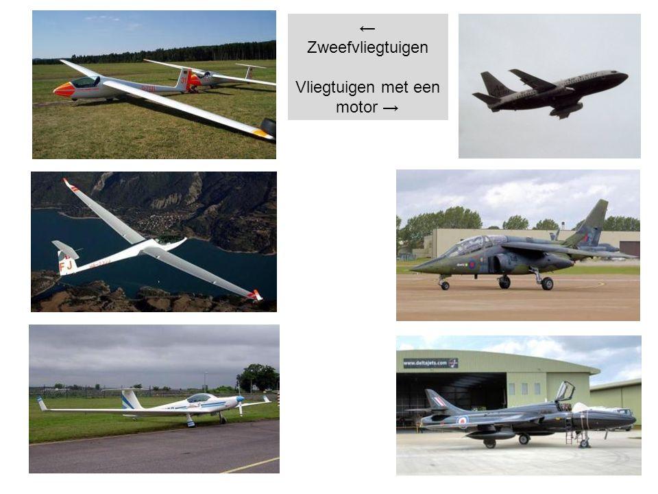 ← Zweefvliegtuigen Vliegtuigen met een motor →