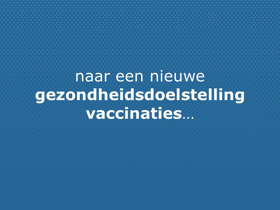 Subdoelstelling 2 vaccinatie van volwassenen:  Tegen 2014 wordt voor volwassenen een vaccinatiekalender en een vaccinatiestrategie opgemaakt.