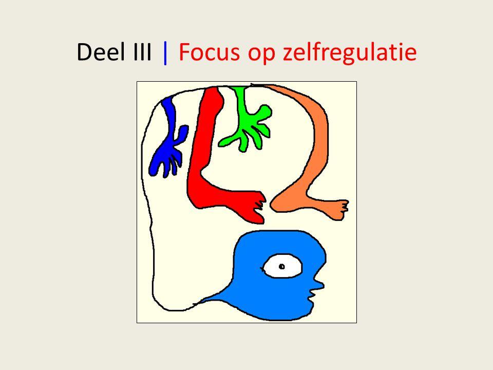 Deel III | Focus op zelfregulatie