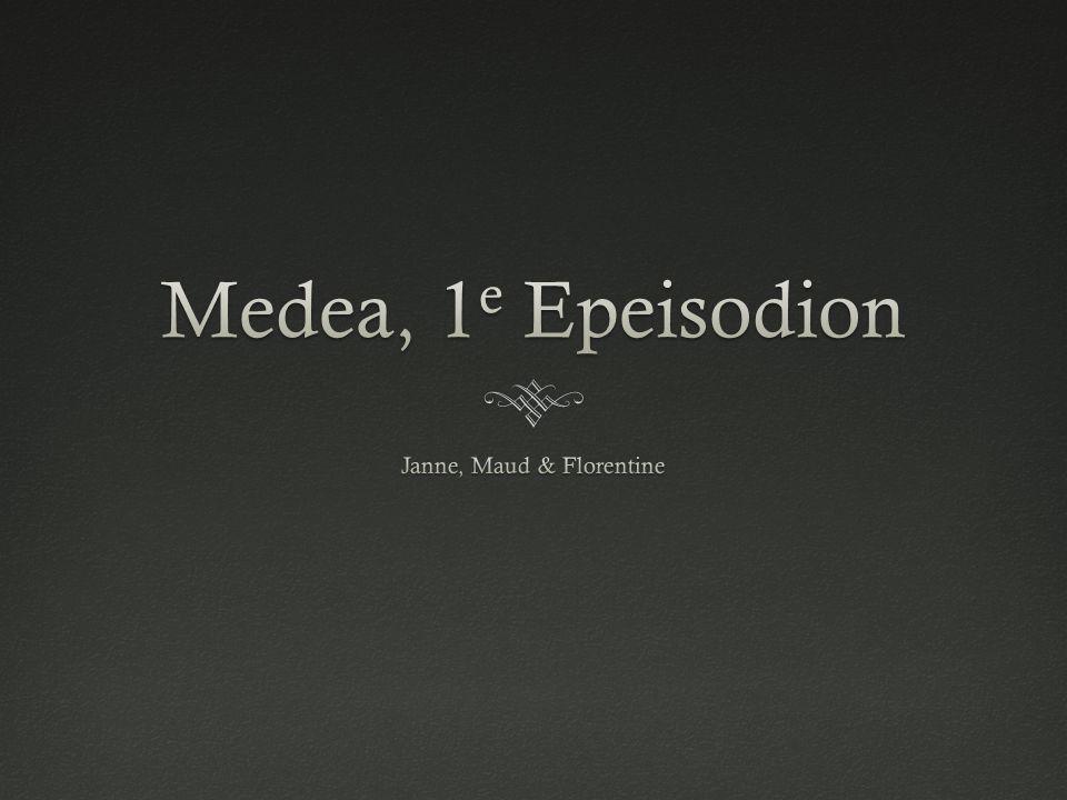 r.214 – 221r.214 – 221  Arrogante stervelingen  Medea vertelt over: - 'toch maar naar buiten gekomen anders worden jullie boos' - stervelingen denken iemand te kennen, maar dan blijkt hij toch anders te zijn > Jason (220) Het is nodig voor vreemdelingen zich aan te passen.