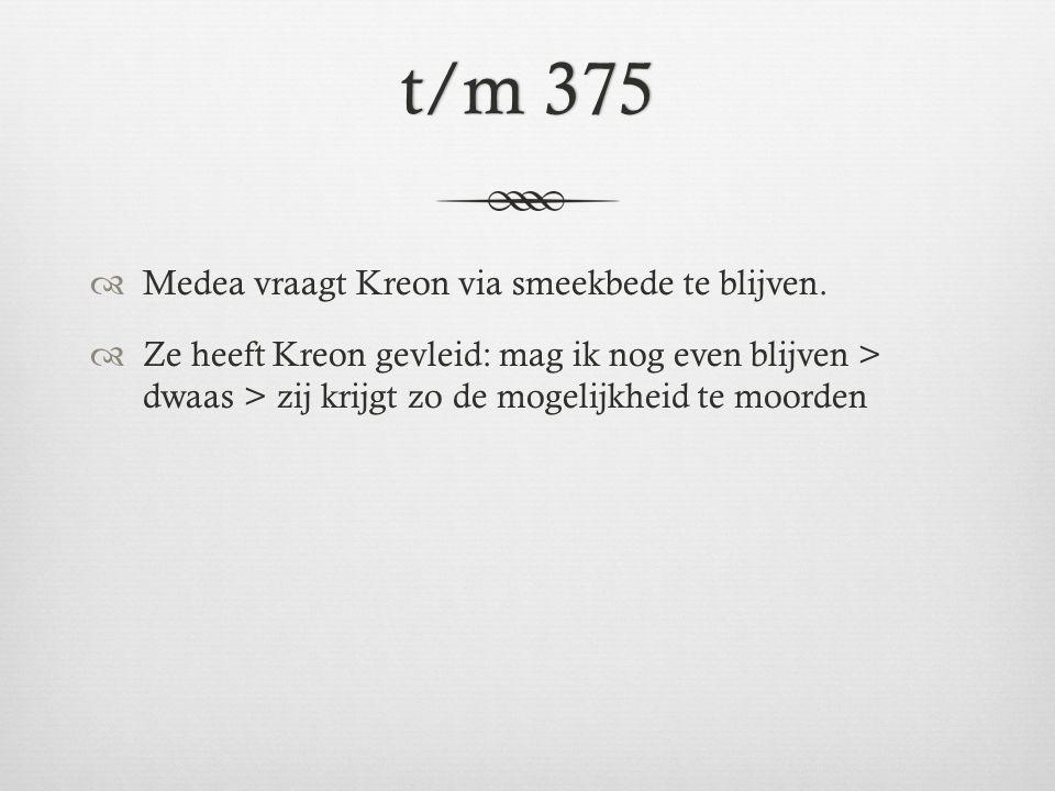 r.376  Opties wraak - huis van bruid in brand steken - zijn lever doorstoten met een scherf > genânt als ik, Medea, (hierdoor) zou sterven