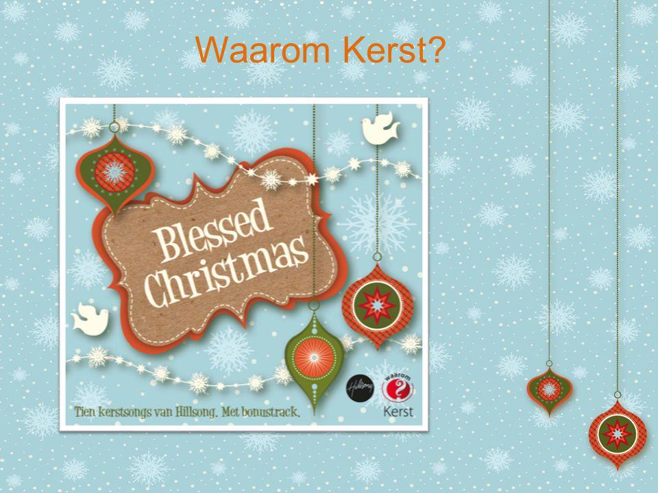 Wie wenst u een gezegende Kerst.