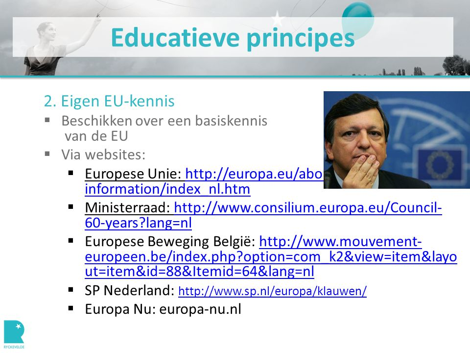 Educatieve principes 2.