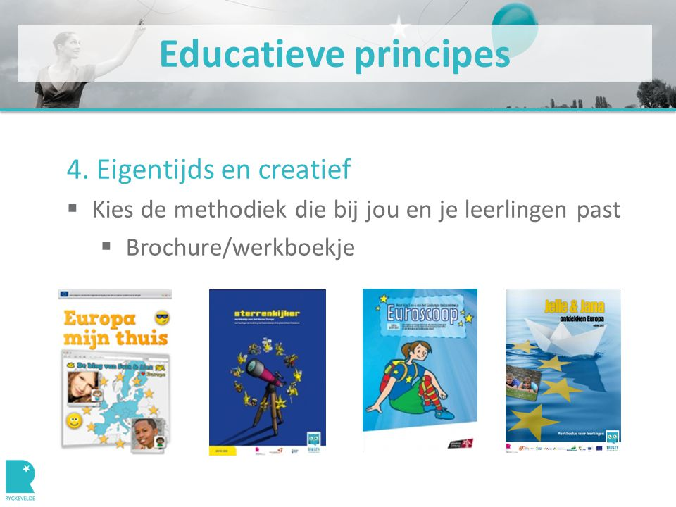 Educatieve principes 4.