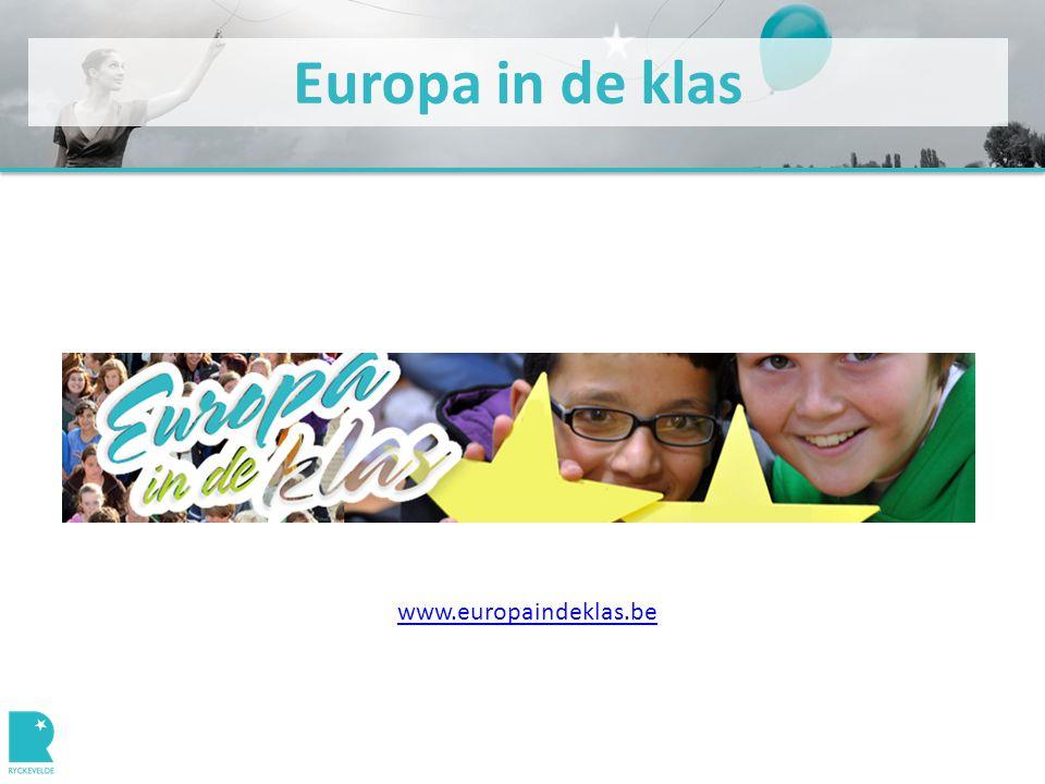Europa in de klas www.europaindeklas.be